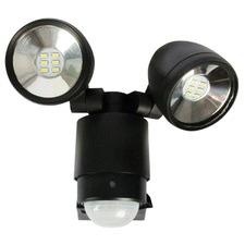 6W Sarus Two Light LED Sensor Flood Light