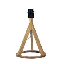Stabb Table Timber Tripod Lamp Base