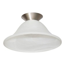 Isca Glass Batten Fix Ceiling