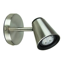 Brushed Steel Adjustable Spot