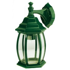 Highgate Down Exterior Wall Light in Green