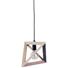 Trap Triangle Pendant Black Suspension