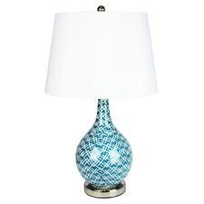 Chaka Geometric Patterned Lamp