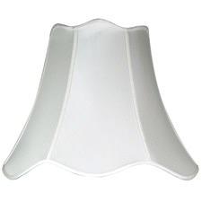 Large Plain Ivory Shade