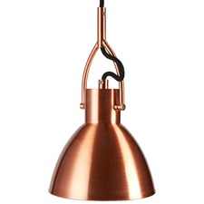Industrial Style Copper Pendant