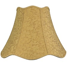 Empire Shade in Old-Gold Jacquard