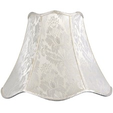 Empire Shade in Ivory Jacquard