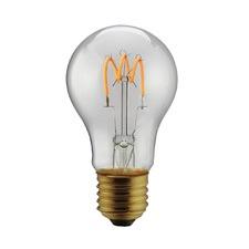 Spiral LED Filament Bulb (Set of 2)