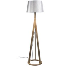 Martina Wooden Floor Lamp