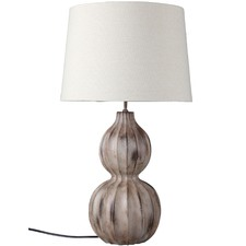 Autumn Ribbed Table Lamp
