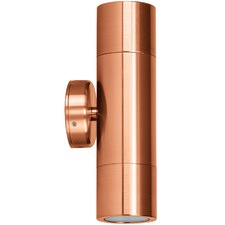 Oxley GU10 Copper Outdoor Wall Light