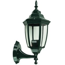 Highgate Up Exterior Wall Light in Green