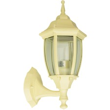 Highgate Up Exterior Wall Light in Primrose