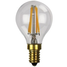 G45 E14 LED Filament Bulbs (Set of 2)