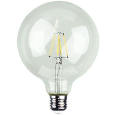 G125 E27 LED Filament Bulbs (Set of 2)
