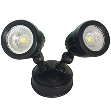 Black Escort LED Outdoor Flood Light