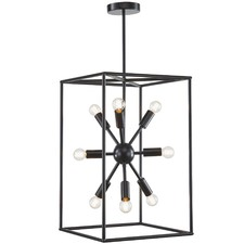 Georgetown Vertical Box Pendant Light