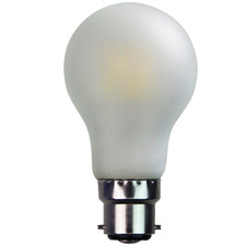 Frosted B22 A60 LED Filament Bulb