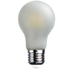 Frosted E27 A60 LED Filament Bulb