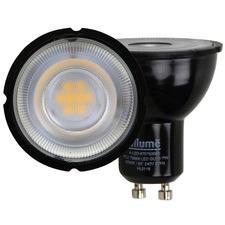 Black GU10 LED Globe