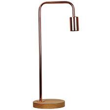 Valle D'Aosta Wooden Table Lamp