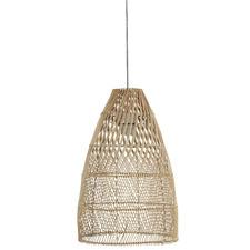 Natural Oden Rattan Pendant Light