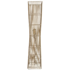 Natural Kavan Cane Floor Lamp