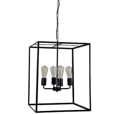Ehsan 4 Light Metal Pendant