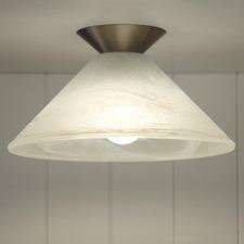 Vamp Glass Ceiling Light Shade