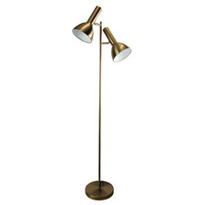 Olbia Twin Metal Floor Lamp