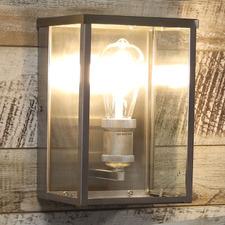 Vance Metal & Glass Outdoor Wall Light
