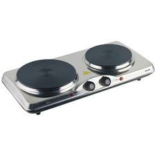 Maxim Portable Twin Cooktop with Hotplates