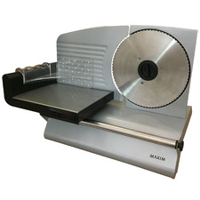 200W Maxim Electric Deli Style Food Slicer