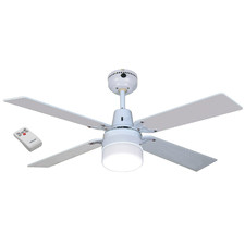 120cm Heller Ceiling Fan with Clipper Light & Remote Control