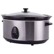 6L Maxim Stainless Steel Slow Cooker