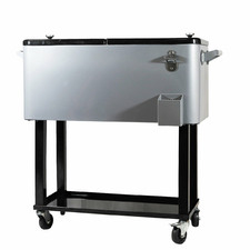 80L Heller Alfresco Cooler Cart
