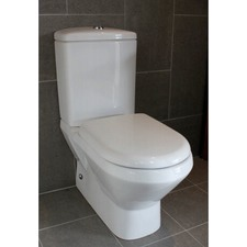 Jumeirah BTW Bottom Inlet Toilet Suite Soft Close in White