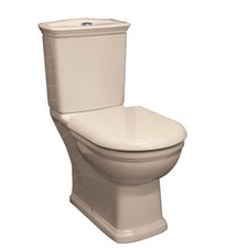 Washington Toilet Suite Soft Close in Ivory