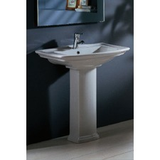 Washington 560 Pedestal Basin in White
