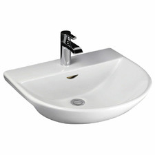 Reserva Semi-Recessed Ceramic Basin
