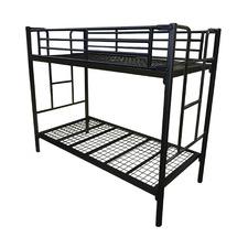 Black Junee Steel Bunk Bed