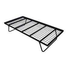 Black Mavy Steel Trundle Bed