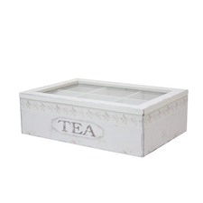 Large Tea Box in Green