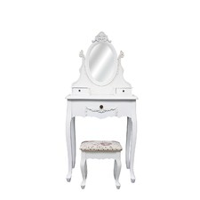 Dressing Table with Princess Mirror & Stool