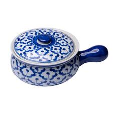 Blue Paulino Ceramic Serving Bowl