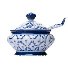 Blue Arlo Serving Bowl