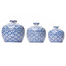 3 Piece Pietro Ceramic Serving Bowl Set