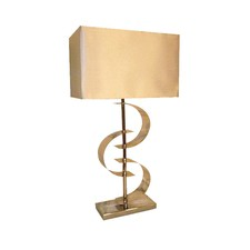 Stainless Steel Curl Table Lamp