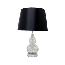 52cm Glass Table Lamp