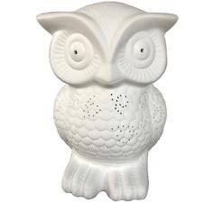 Ceramic Owl Table Lamp